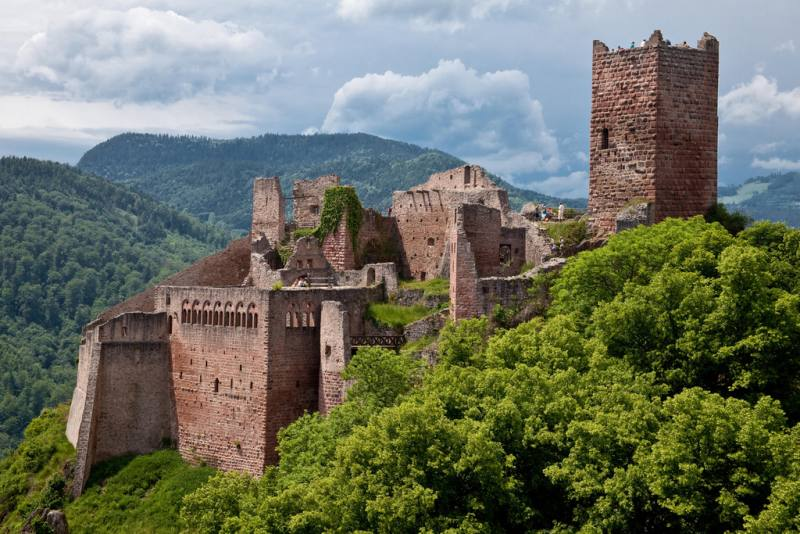 Chateau en Alsace